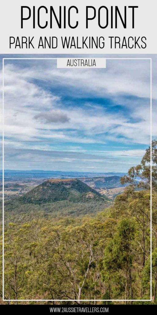 Picnic Point Toowoomba pinterest poster