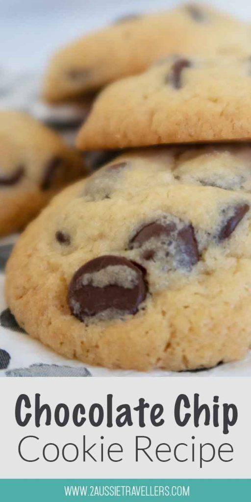 Buttery chocolate chip cookies pinterest poster
