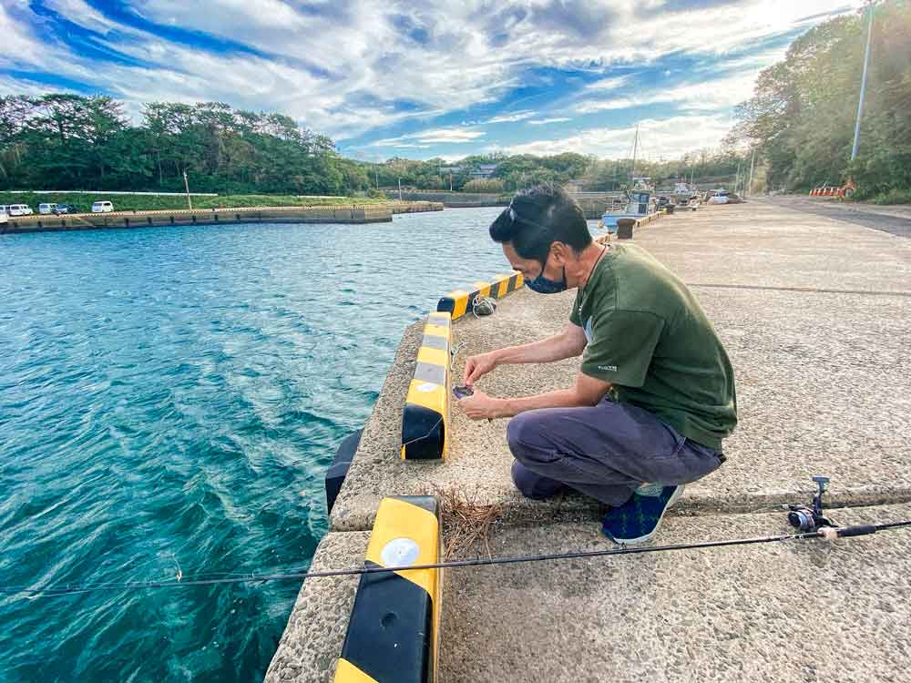 Fishing on Ojika Island