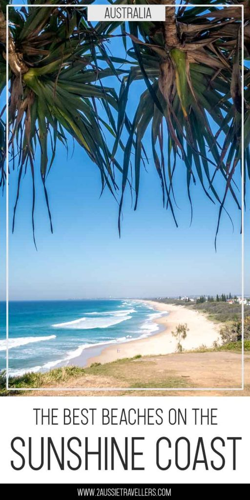 Best Sunshine Coast beaches pinterest poster