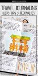 Travel journal pinterest poster