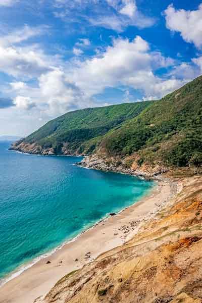 Coastal view on Nozaki Island