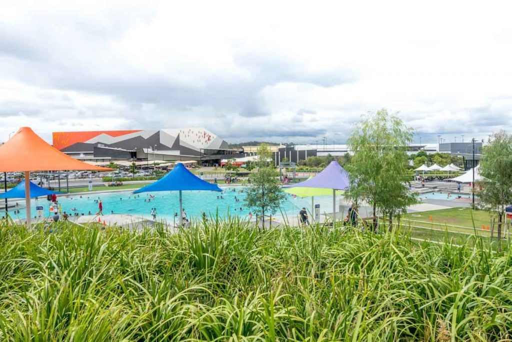 Orion Lagoon Pool in Ipswich