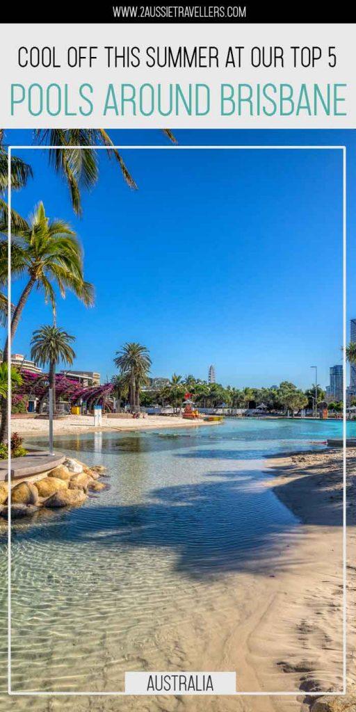 Best Brisbane Swimming Pools pinterest poster