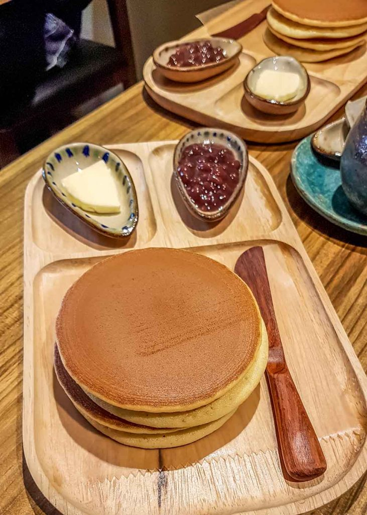 Breakfast dorayaki set