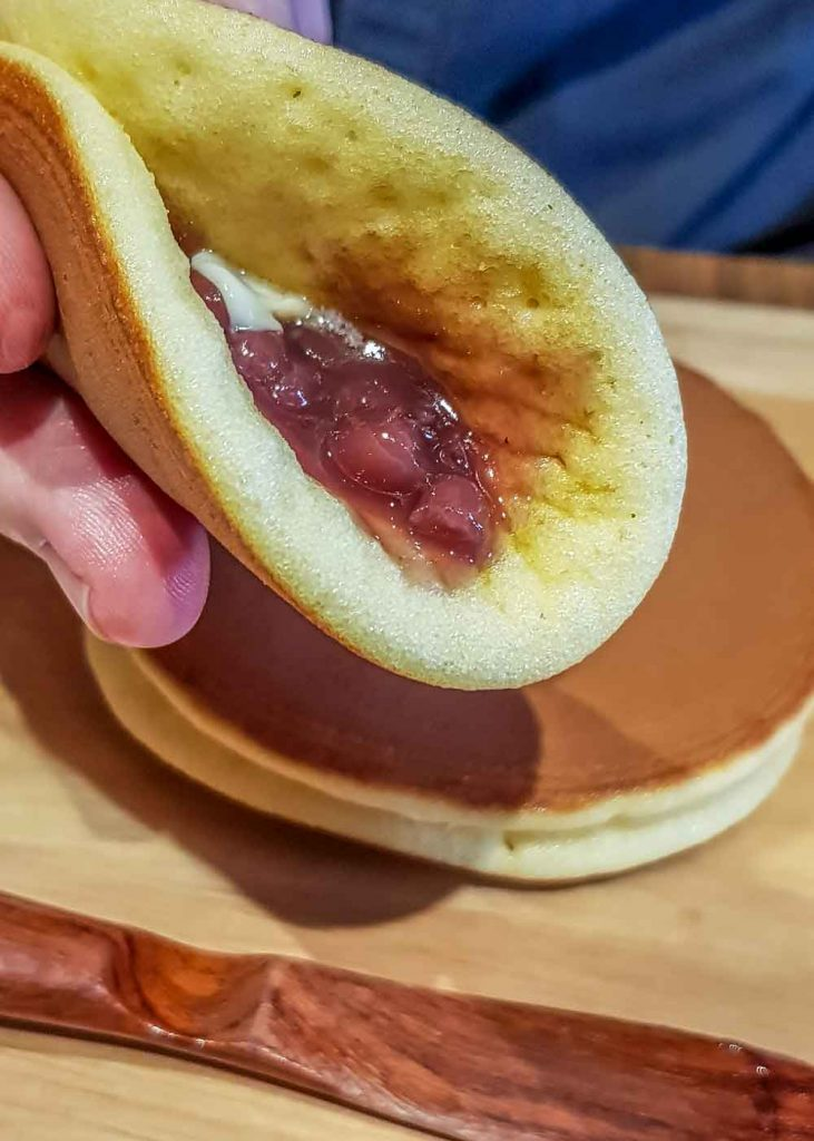 How to fold your deconstructed dorayaki