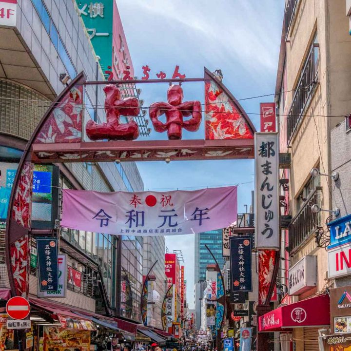 Things to do in Ueno - market street