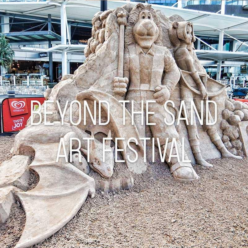 Beyond the sand art festival cover