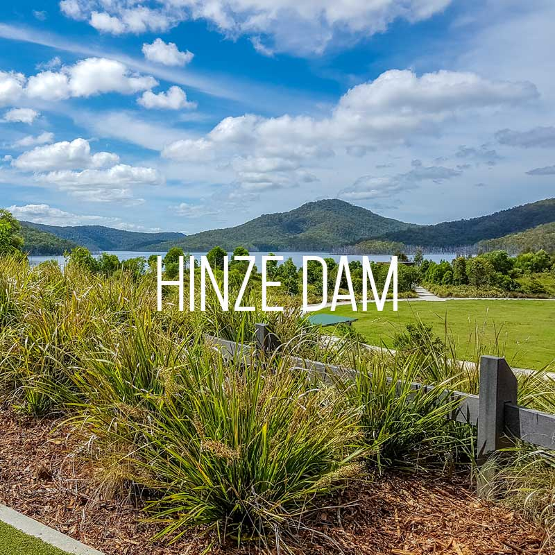 Hinze Dam cover