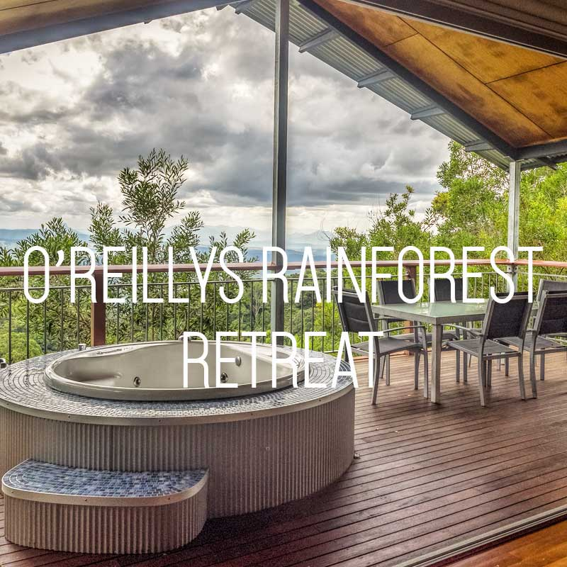 O'Reillys Rainforest Retreat cover