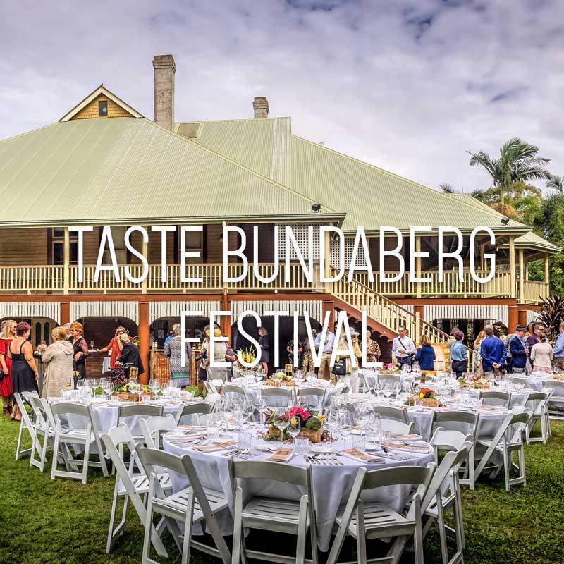 Taste Bundaberg festival cover