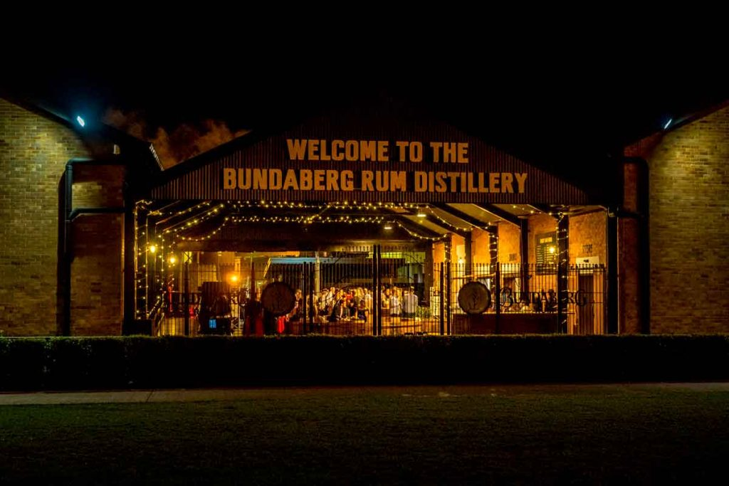 Function at Bundy Rum