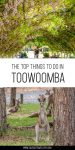 Things to do in Toowoomba pinterest poster