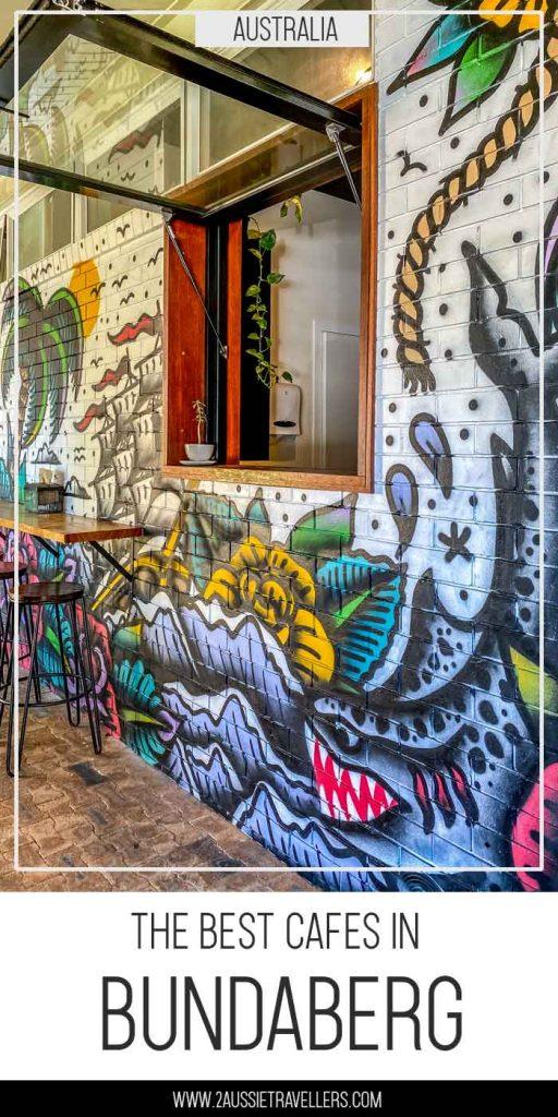 Best cafes in Bundaberg pinterest poster