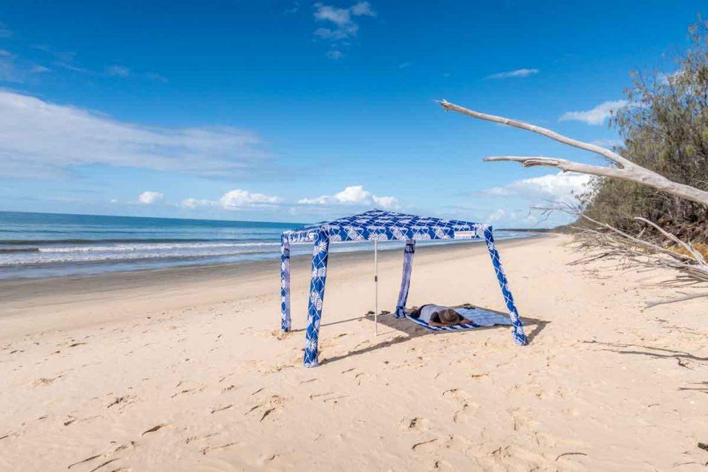 Cool Cabana on Woodgate beach