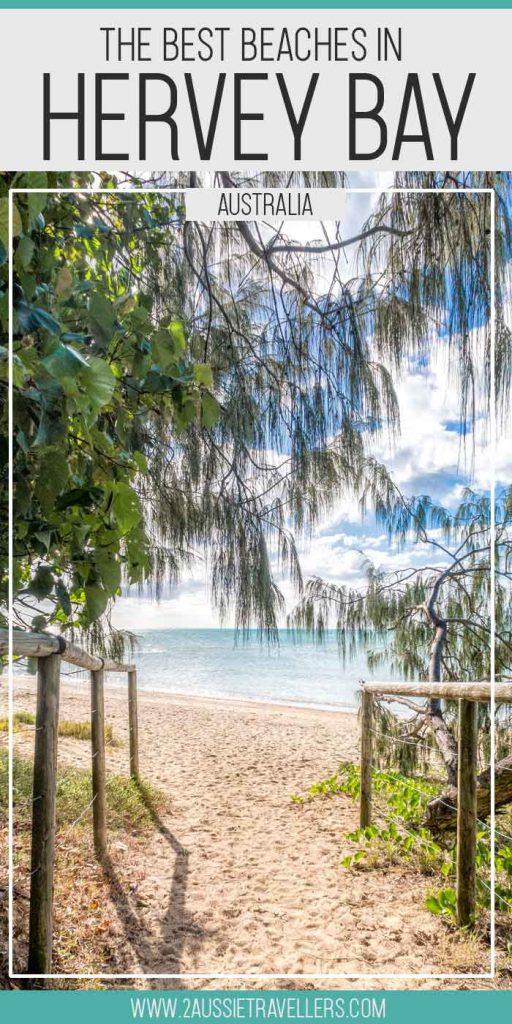 Best hervey Bay beaches pinterest poster