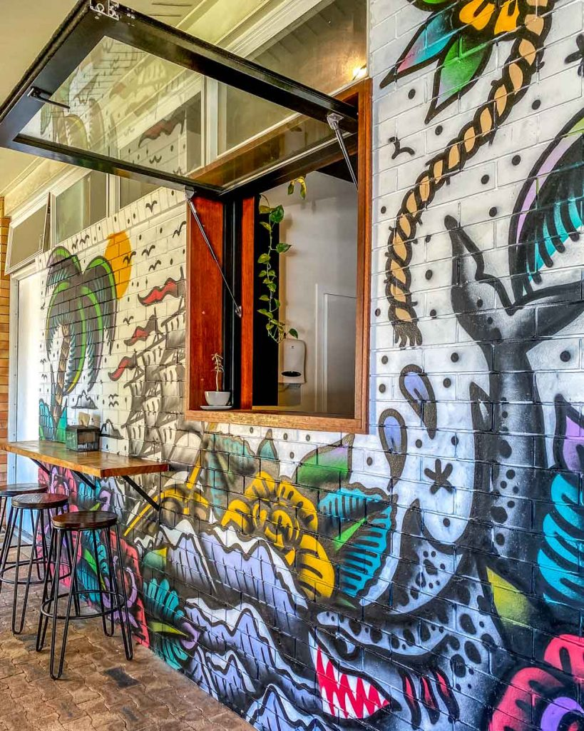 The Journey coffee shop in Bargara