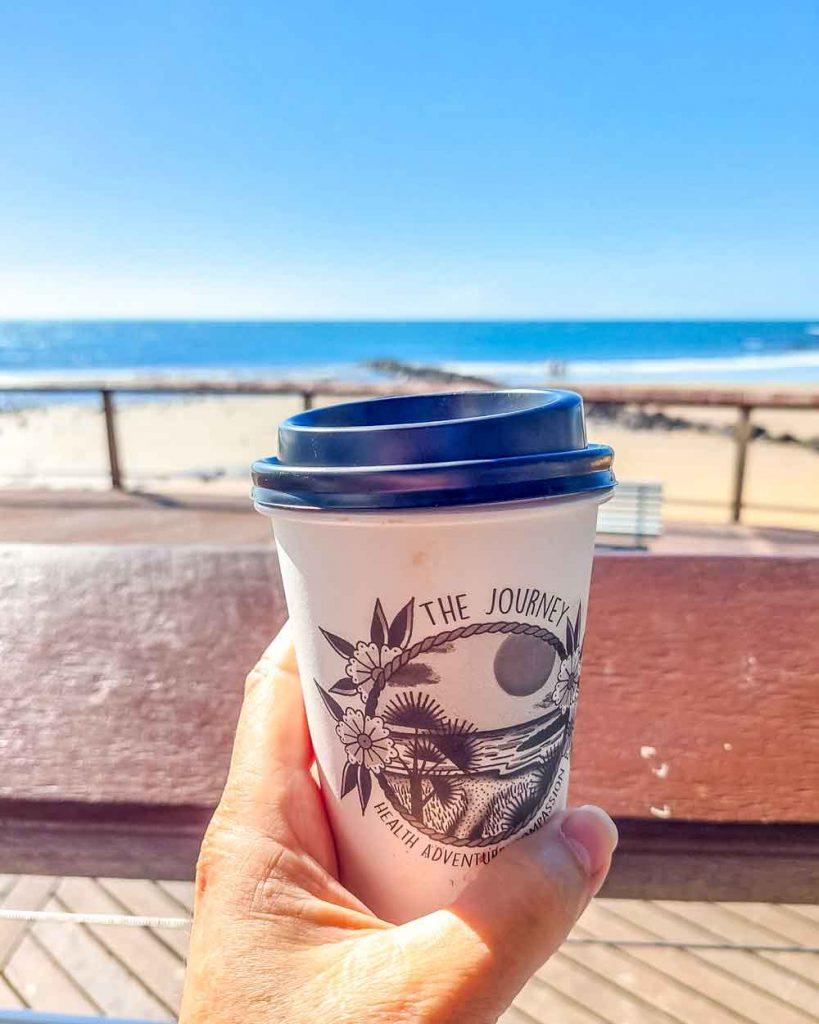 The Journey coffee on Bargara Beach