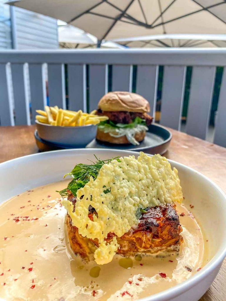 Water Street Cafe Bundaberg - That crab lasagne is perfection