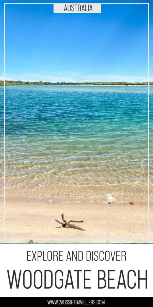 Woodgate beach pinterest poster