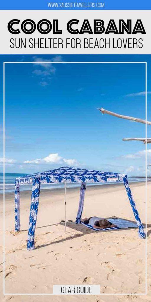 Cool Cabana Pinterest poster