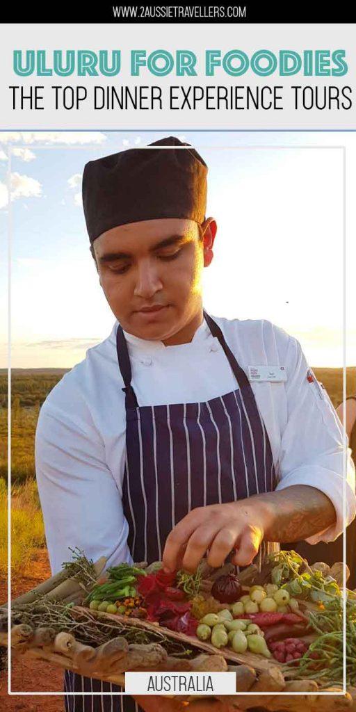 Dinner in Uluru pinterest poster