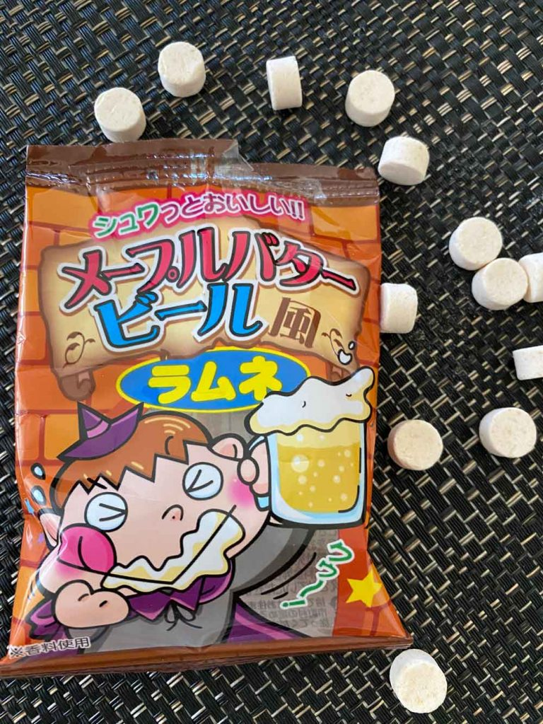 Butter beer ramune candy