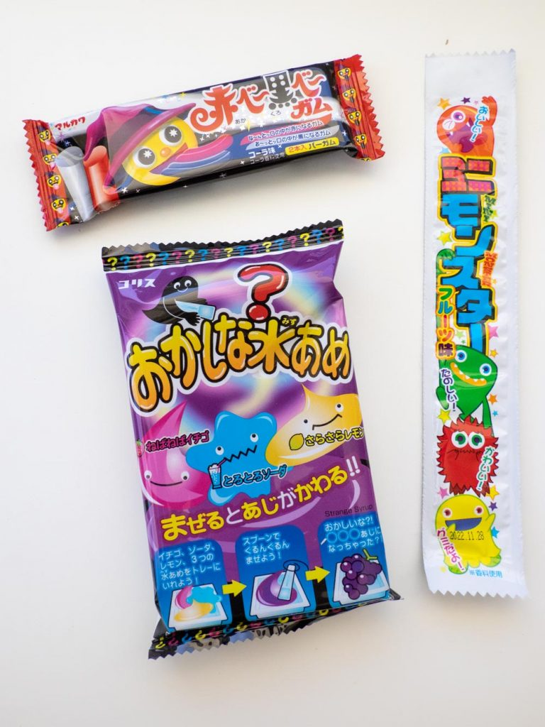 A selection from the Tokyo snack box