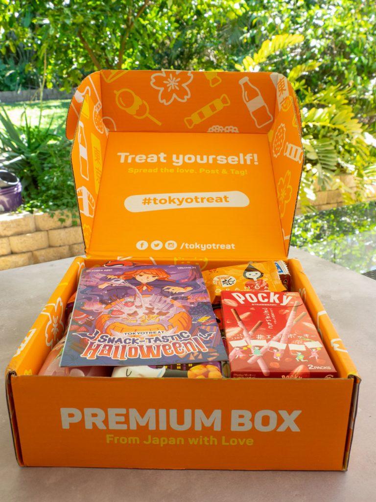 Tokyo treat box opened