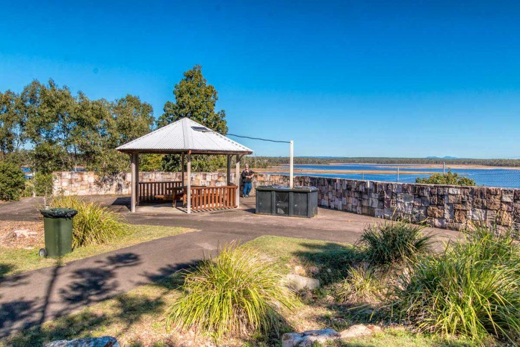 Área de picnic en el lago Lenthall