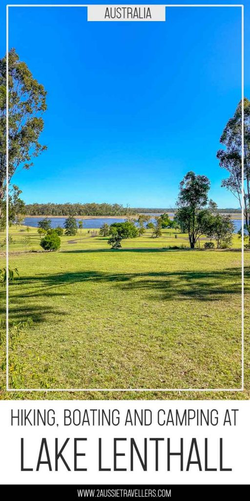 Lake Lenthall across the camping and picnic area